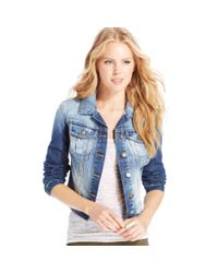 Jessica Simpson - Blue Pixie Denim Jacket - Lyst