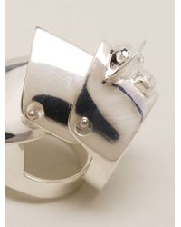 Vivienne Westwood - Metallic 'Armour' Ring - Lyst