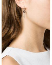 Vivienne Westwood | Metallic Key Drop Earrings | Lyst