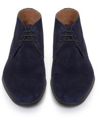 Stemar   Blue Trieste Suede Chukka Boots for Men   Lyst