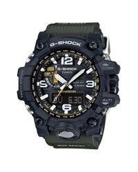 G-Shock - Black 'mudmaster Atomic' Resin Watch for Men - Lyst
