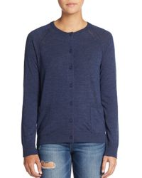 Marc By Marc Jacobs | Blue Grayson Grandfather Cardigan | Lyst