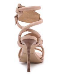 Rachel Zoe - Natural Monica Ankle Strap Sandals - Lyst