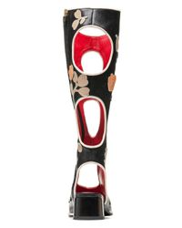 Marni | Multicolor Boot In Buffalo With Circle Pattern | Lyst