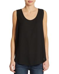 Chaus   Black Lace-Back Shell   Lyst