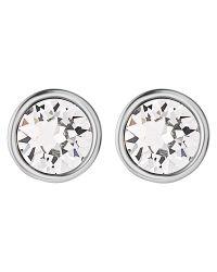 Dyrberg/Kern | Metallic Dyrberg/kern Brid Swarovski Crystal Stud Earrings | Lyst