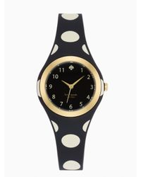kate spade new york | Black Polka Dot Rumsey | Lyst