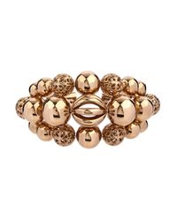 Etro - Metallic Sphere-Shaped Brass Cuff - Lyst