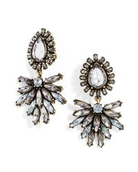 BaubleBar - Metallic Clip-On Tiffany Tear Drops - Lyst