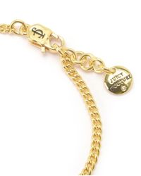 Juicy Couture | Metallic Key And Disc Wish Bracelet | Lyst