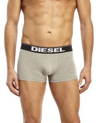 DIESEL - Multicolor 3-Pack Stretch Cotton Boxer Trunks for Men - Lyst