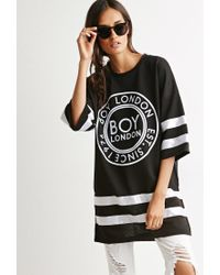 Forever 21 | Black Boy London Hockey Dress | Lyst