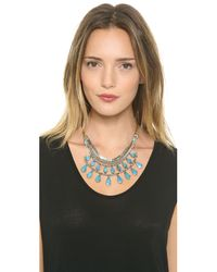 Vanessa Mooney - Blue The Sheba Necklace - Lyst