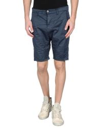 Imperial | Blue Bermuda Shorts for Men | Lyst
