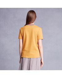 Trademark | Metallic Spring Collar T-shirt | Lyst