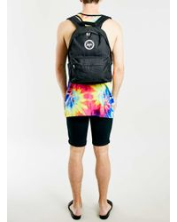 TOPMAN - Hype Black Backpack* for Men - Lyst