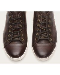 Frye | Brown Chambers Cap Low for Men | Lyst