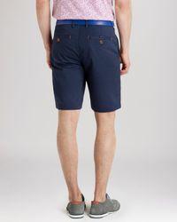 Ted Baker - Blue Shoaks Chino Shorts for Men - Lyst