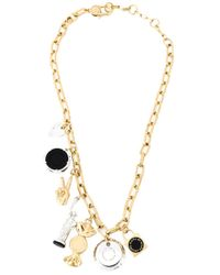 Marc By Marc Jacobs | Metallic 'lost & Found' Necklace | Lyst