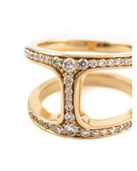 Hoorsenbuhs - Metallic 'dame Phantom' Diamond Ring - Lyst