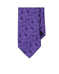 Barneys New York | Purple Floral Jacquard Necktie for Men | Lyst