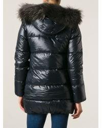 Duvetica - Black 'kappa' Padded Coat - Lyst