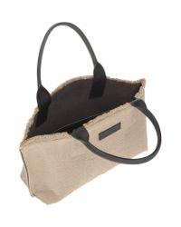 Brunello Cucinelli - Natural Handbag - Lyst