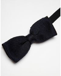 Jack & Jones | Black Knit Bowtie for Men | Lyst