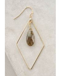 Anthropologie | Gray Nexus Earrings | Lyst