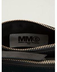 MM6 by Maison Martin Margiela - Black Cross Body Bag - Lyst