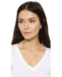 Gorjana - Metallic Candice Shimmer Layered Lariat Necklace - Lyst