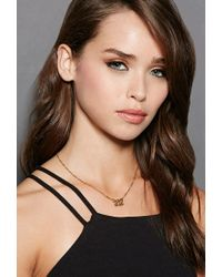 Forever 21 | Metallic Mala By Patty Rodriguez Can I Get Your Number 212 Necklace | Lyst
