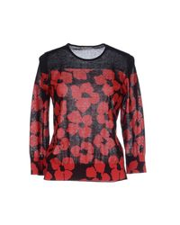 Dries Van Noten - Red Sweater - Lyst