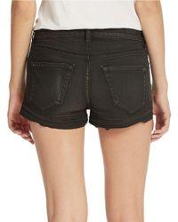 Blank | Black Hi-Rise Cut-Off Shorts | Lyst