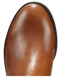 INC International Concepts | Brown Fahnee Wide-Leg Leather Riding Boots | Lyst