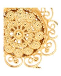 Dolce & Gabbana | Metallic Clip-on Earrings | Lyst