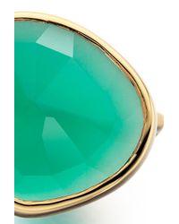 Monica Vinader | Green Siren Stacking Ring | Lyst