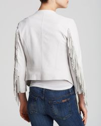 Rebecca Minkoff - White Jacket - Ace Leather - Lyst