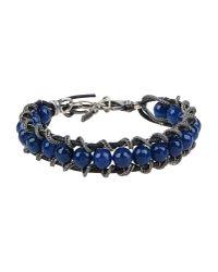 Emanuele Bicocchi | Blue Bracelet | Lyst