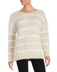 Calvin Klein | Natural Eyelash Knit Sweater | Lyst