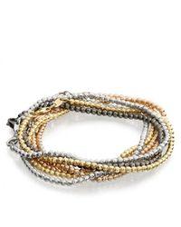 Astley Clarke - Pink Rose Gold Disco Ball Bracelet - Lyst