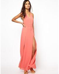 Jarlo | Orange Maxi Dress | Lyst