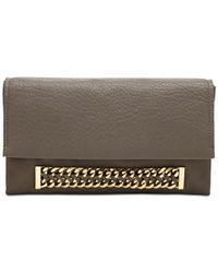 Vince Camuto | Gray Zigy Clutch | Lyst