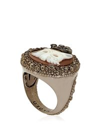 Amedeo - Metallic Special Edition Caviar Ring for Men - Lyst