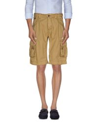 Armani Jeans - Natural Bermuda Shorts for Men - Lyst