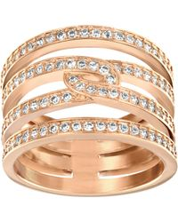 Swarovski | Pink Creativity Ring | Lyst