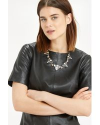Oasis - Multicolor Deco Stone Collar Necklace - Lyst