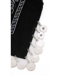 Vanessa Mooney - Metallic The Harper Coin Bandana Necklace - Woven - Lyst