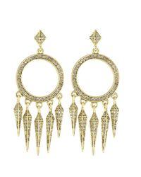 House of Harlow 1960 | Metallic Vibrations Chandelier Earrings | Lyst
