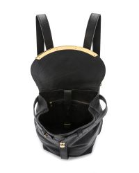 See By Chloé - Black Lizzie Backpack - Cappuccino - Lyst